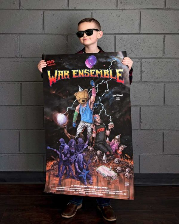 War Ensemble Poster With Student